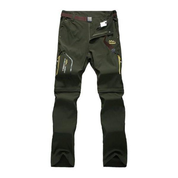 v green 2090111426 Pantalons De Randonnée En Plein Air: Vous Permet Une Grande Liberté De Mouvement