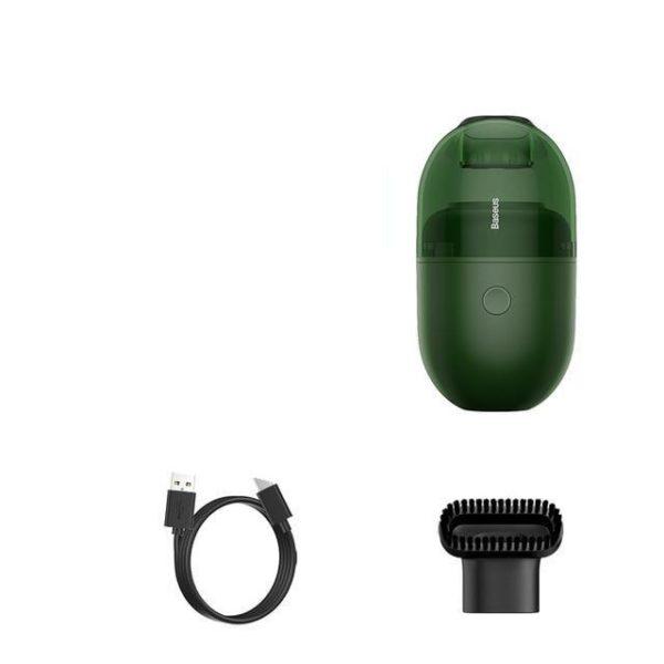 Aspirateur de Table À Capsules : Faible Bruit et Forte Puissance D'aspiration - Vert