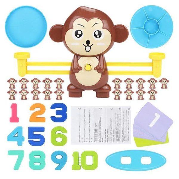 v monkey 716100007 Jeu pour Enfants : Apprendre à Équilibrer et Stimuler Les Compétences