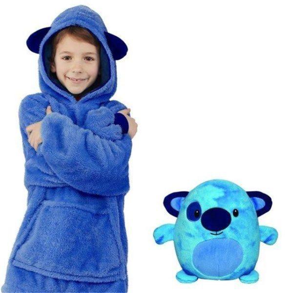 v opp bag blue 1971817642 Sweat À Capuche en Forme D'Animal Familier : Sweat-Shirt Portatif et Chaud