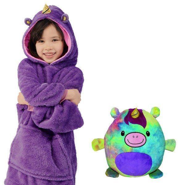 v opp bag purple 487148002 Sweat À Capuche en Forme D'Animal Familier : Sweat-Shirt Portatif et Chaud