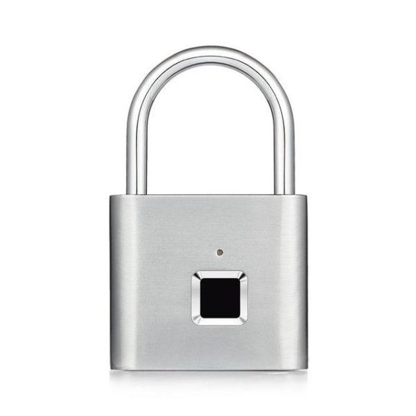v silver 1013308439 Cadenas Intelligent Empreinte Digitale : Reconnaissance Rapide et Sécurisée