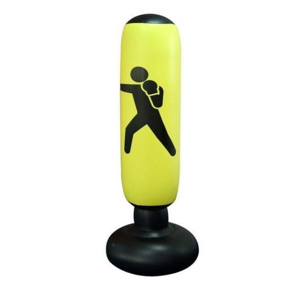 v yellow 1227415977 Sac De Frappe Gonflable: Vous Permet De Vous Exercer Sans Limites