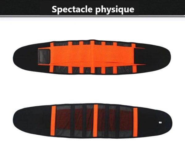 waist support belt back corset belt gymn description 12 Slimming Belt: Seinture de Sudation Qui Brûle Les Graisses du Ventre en Ciblant L'abdomen