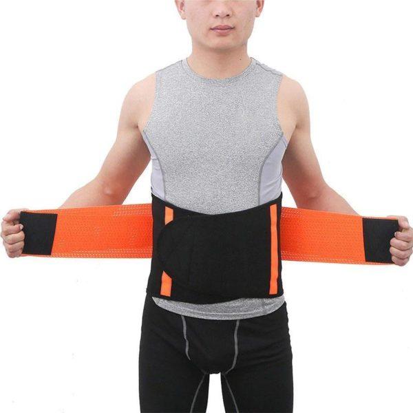 waist support belt back corset belt gymn description 18 Slimming Belt: Seinture de Sudation Qui Brûle Les Graisses du Ventre en Ciblant L'abdomen