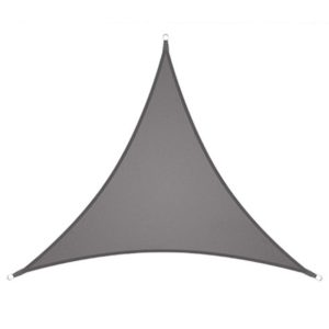 voile d'ombrage extérieur 3x3x3 gris clair