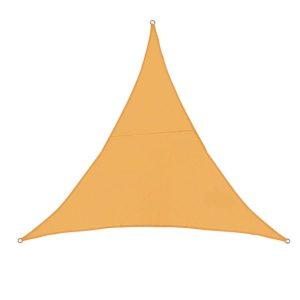 Toile d'ombrage triangulaire 3x3x3 orange