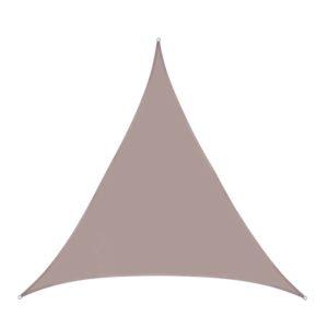 Voile d'ombrage triangle 3x3x3 kaki