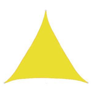Voile d'ombrage triangulaire australe jaune