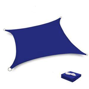Voile d'ombrage bleue 2x2