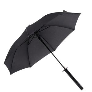 Parapluie samouraï longue poignée