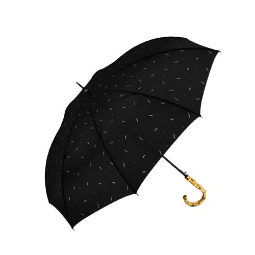 Parapluie anti-UV poignée bambou