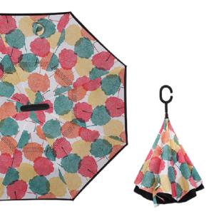Parapluie inversé multicolore