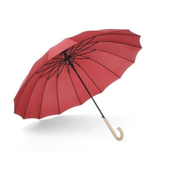 Parapluie femme rouge