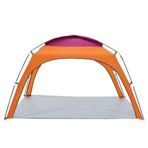 Tente tripolaire 4 personnes orange