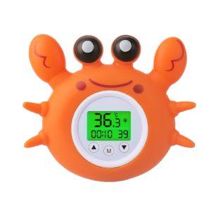 Thermomètre de bain crabe