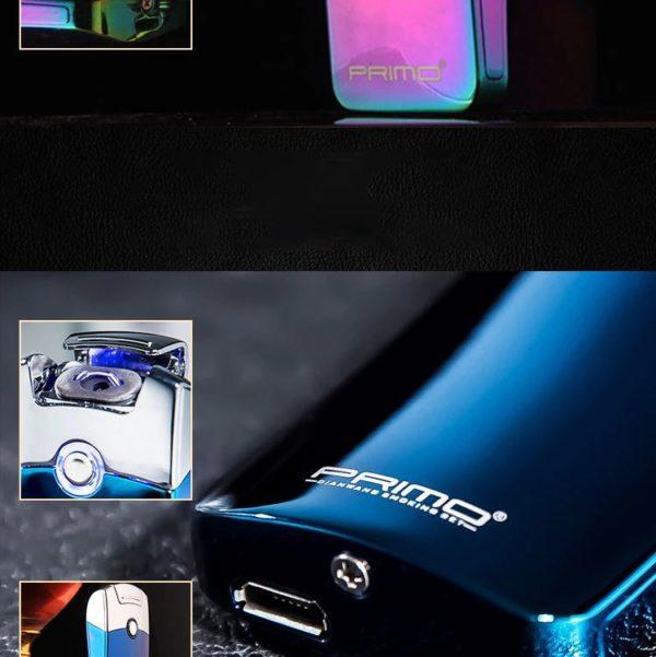 Briquet Électrique USB Premium Couleur