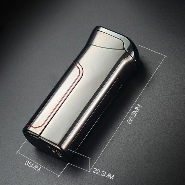 Briquet Électrique USB avec Charge Intelligente Taille