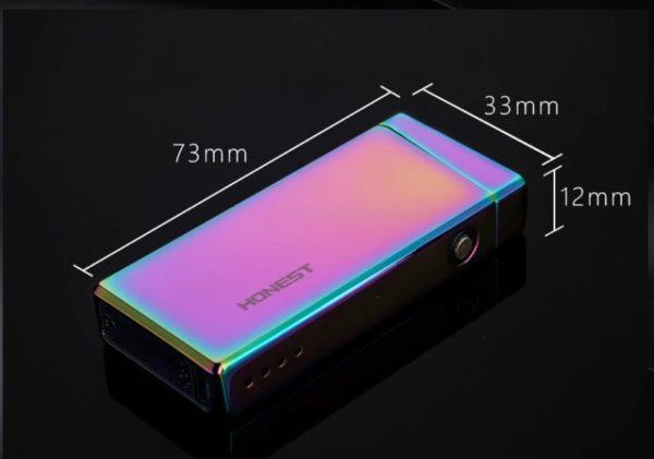 Briquet Rechargeable USB Taille