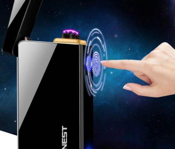 Briquet Rechargeable USB avec Arc Électrique Tactile