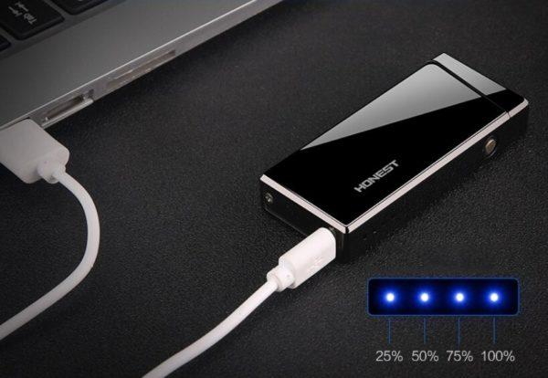 Briquet Rechargeable USB avec Arc Électrique USB