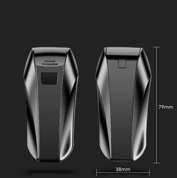 Briquet USB Double Arc Plasma Sans Flamme Taille