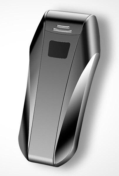 Briquet USB Double Arc Plasma Sans Flamme noir
