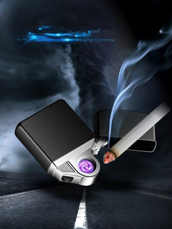 Briquet USB Rotatif Électrique Plasma Cigarette