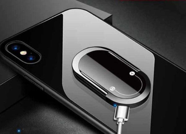 Briquet USB avec Anneaux pour Téléphone Branché