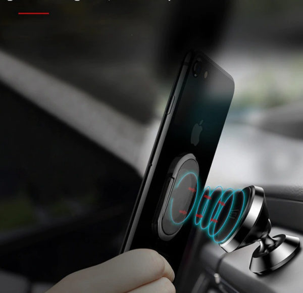 Briquet USB avec Anneaux pour Téléphone Voiture