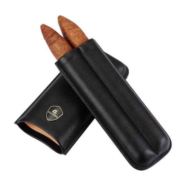 Briquet à Cigare Coupe-Cigare et Boîte Cuir