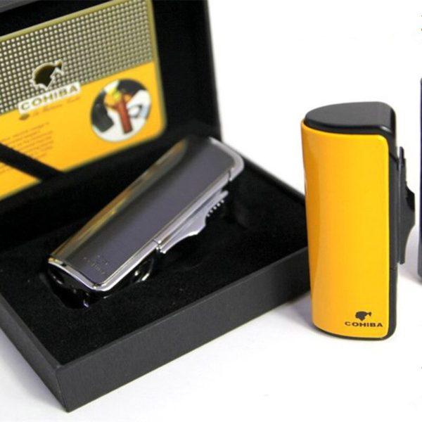 Briquet pour Cigare et Accessoires Coffret