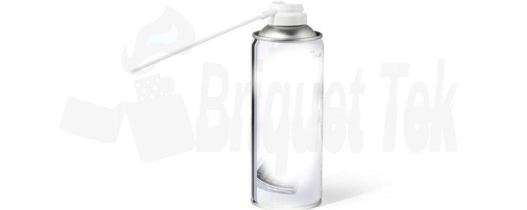 Déboucher un Briquet à Gaz aerosol air comprimé