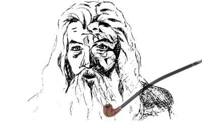 Fabriquez votre propre pipe en bois «Gandalf».