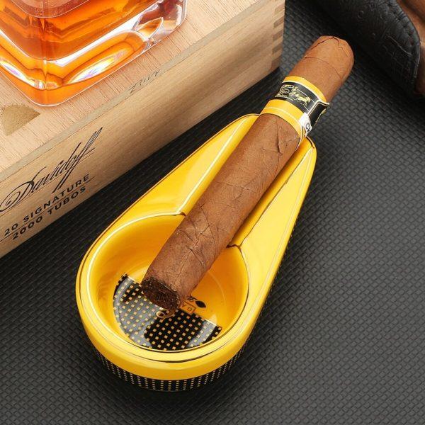 Set Briquet GALINER Coupe-Cigare et Cendrier Cigare
