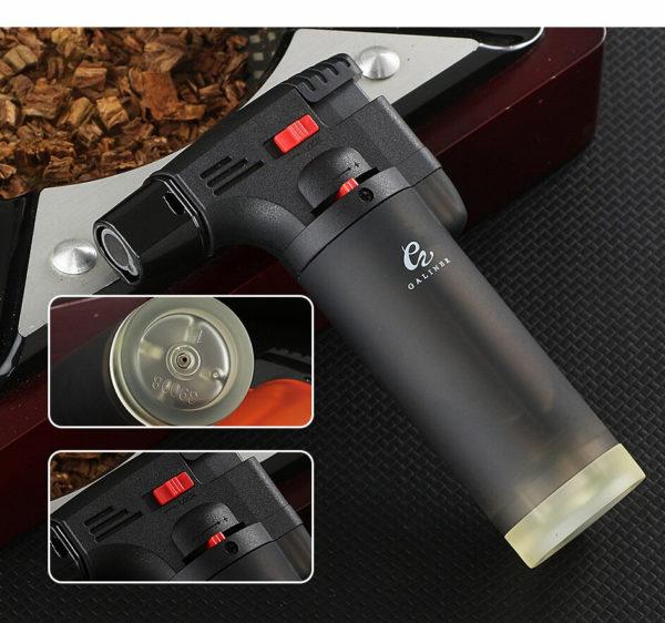 Set Briquet Torche GALINER Coupe-Cigare et Cendrier