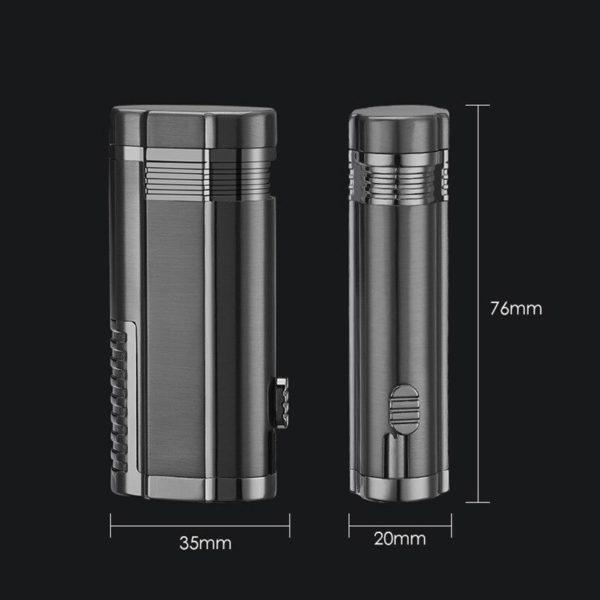 Trois Torches et Coupe-Cigare Intégré Taille