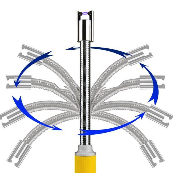 briquet-électrique-sans-flamme-pour-bbq-rotation