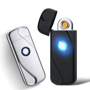 Briquet Électrique Ultra-Fin Interrupteur Tactile