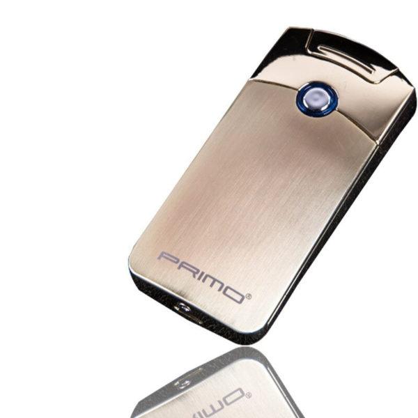 Briquet Électrique USB Premium Argenté
