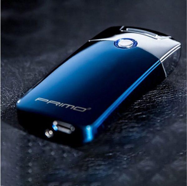 Briquet Électrique USB Premium Couleur Bleu