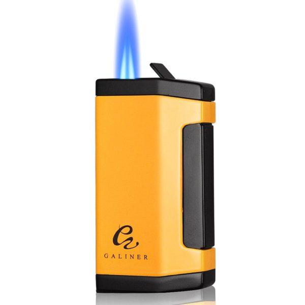 Briquet GALINER Flamme 2 Jets et Coupe-Cigare