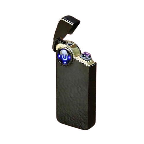 Briquet USB à Double Arc et Capteur Tactile