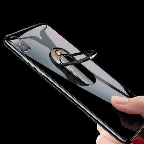 Briquet USB avec Anneaux pour Téléphone