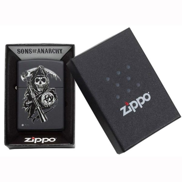"Briquet ""ZIPPO-Original"" Tête de Mort Edition 2021"