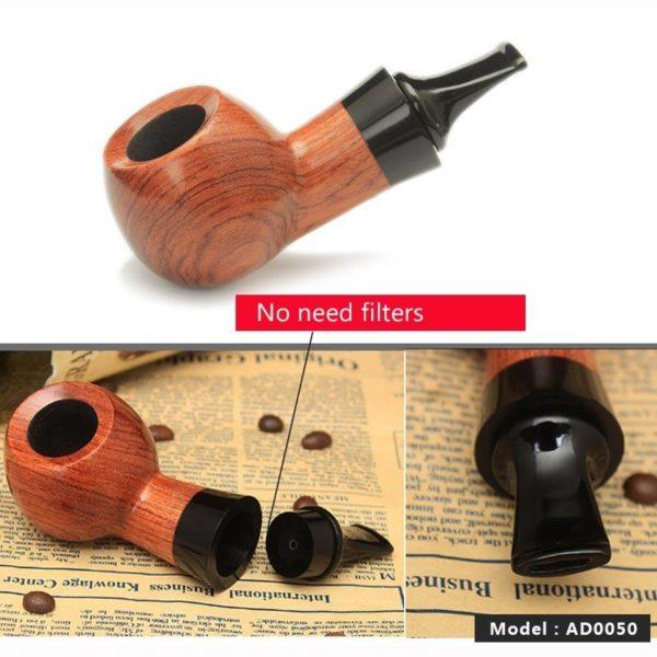 Pipe à Tabac Fait Main en Bois