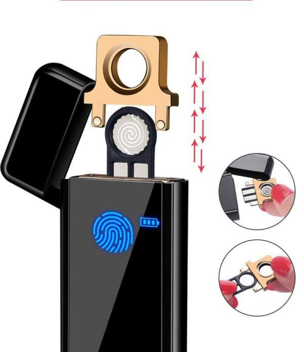 Briquet Électrique USB Tactile