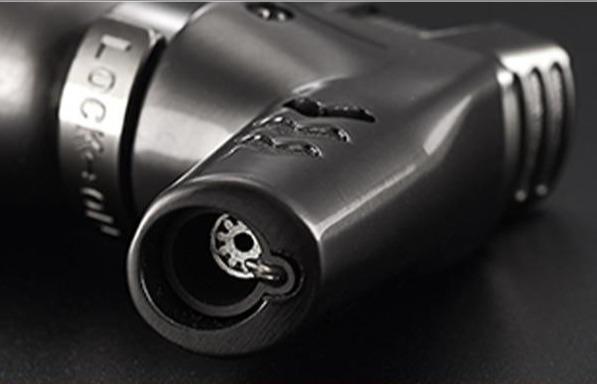 Briquet Pistolet Métallique à l'Épreuve du Vent