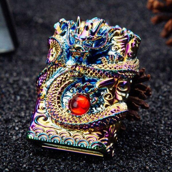 Briquet de Luxe 3D Dragon