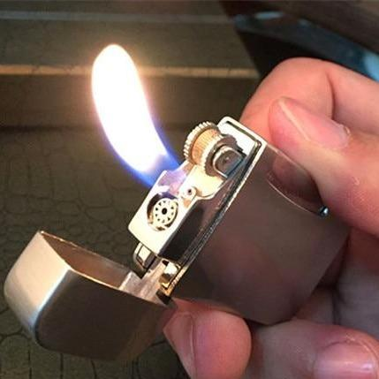Briquet à Gaz Double Flammes